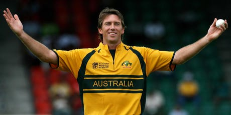 Glenn McGrath Cricket Clinic tickets