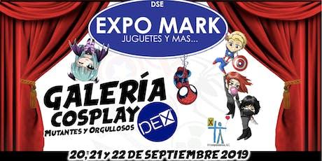 Galería Cosplay Mutantes y Orgullosos - EXPO MARK Pino Suárez - DEX Hunters boletos