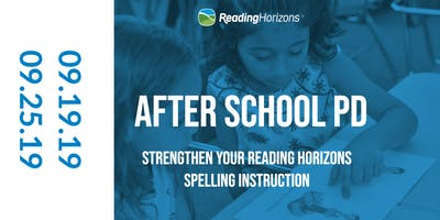 Strengthen your Reading Horizons Spelling Instruction