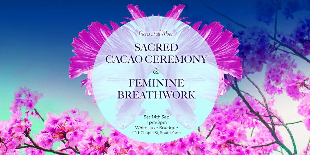 Full Moon Sacred Cacao Ceremony Tickets, Multiple Dates