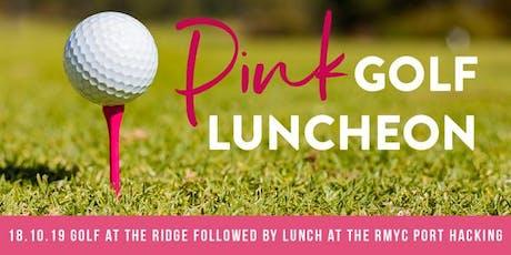 RMYC Port Hacking McGrath Pink Golf Day tickets
