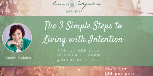 The 3 Simple Steps to Living with Intention