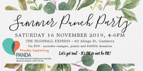 Summer Punch Party tickets