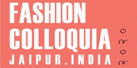 Fashion Colloquia 2020 tickets
