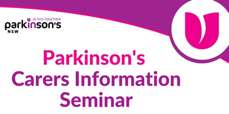 Parkinson's Carers Information Seminar – Ashfield tickets