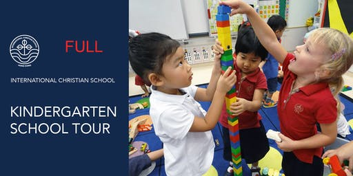 ICS Kindergarten Tour - Sept 24, 2019 - 1:30 PM