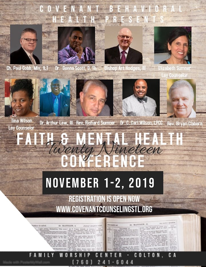 Faith and Mental Health Conference 2019 Tickets, Fri, Nov 1