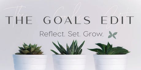 The Goals Edit - Monthly Goal Setting Session tickets