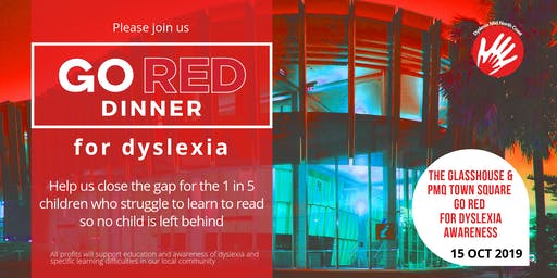 GO RED Dyslexia Dinner