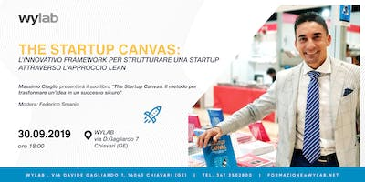 Wylab  incontra Massimo Ciaglia: THE STARTUP CANVAS