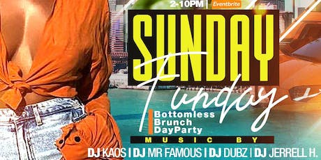 SUNDAY FUNDAY with the @BRUNCHXGODS @ TAJ tickets