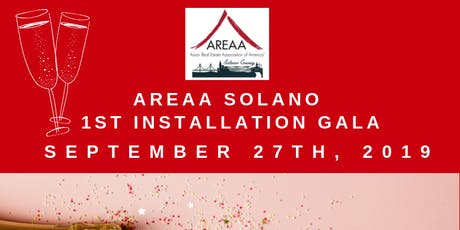 AREAA Solano 1st Installation Gala tickets