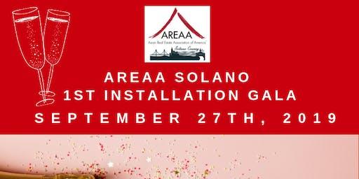 AREAA Solano 1st Installation Gala