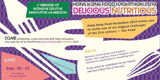 Hong Kong Food Hackathon 2019