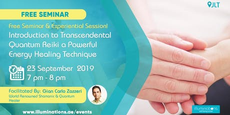 FREE: Introduction To Transcendental Quantum Reiki A Powerful Energy Healing Technique tickets