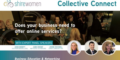 "Collective Connect - ""Does your business need to offer online services?"""