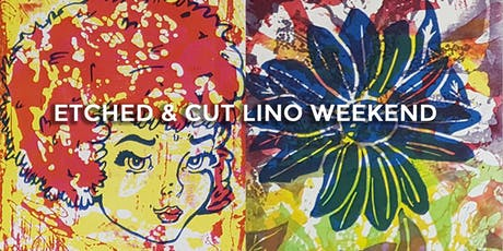 Etched & Cut Lino Weekend tickets