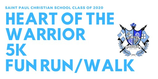 Heart of a Warrior 5K Family Fun Run/Walk
