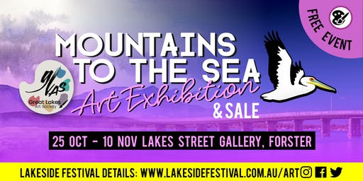 'Mountains to the Sea' Art Exhibition & Sale