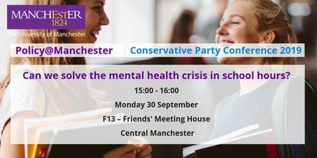 Panel: Can we solve the mental health crisis in school hours? tickets