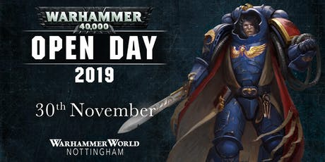 Warhammer 40,000 Open Day 2019 tickets