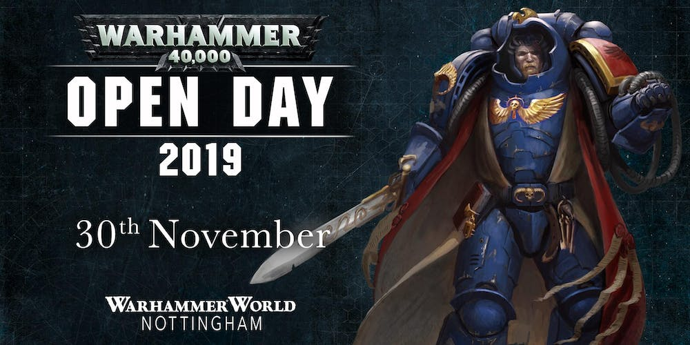 Warhammer 40,000 Open Day 2019 Tickets, Sat 30 Nov 2019 at