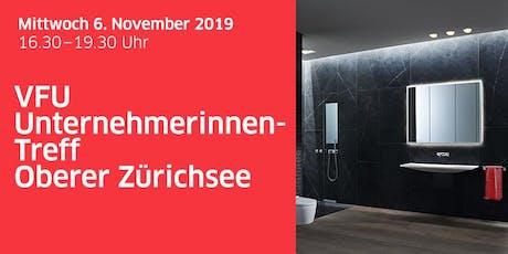 Unternehmerinnen-Treff Oberer Zürichsee bei Geberit Tickets