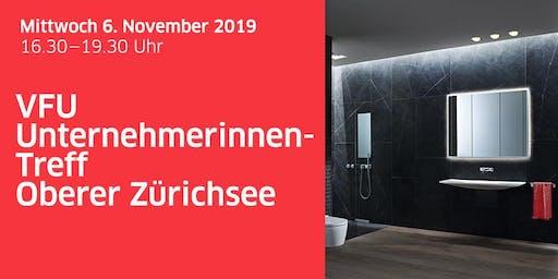 Unternehmerinnen-Treff Oberer Zürichsee bei Geberit