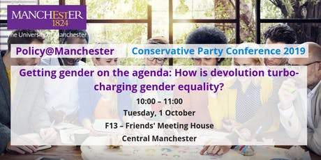 Panel: Getting gender on the agenda: How is devolution turbo-charging gender equality? tickets