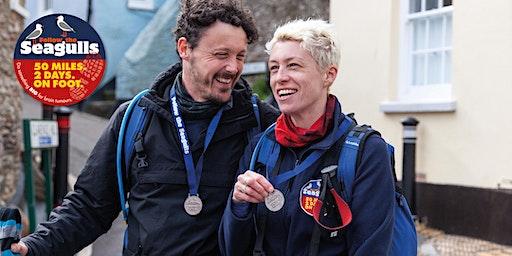 Follow the Seagulls Charity Trek - Dartmouth, Devon 2020