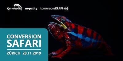 Conversion Safari | Zürich - 28.11.2019