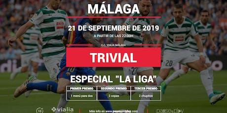 Trivial Especial La Liga en Pause&Play Vialia Málaga entradas