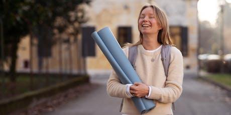 Feel Good Friday yoga & healthy snacks billets