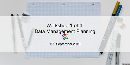 UBC RDM Workshop 1: Data Management Planning