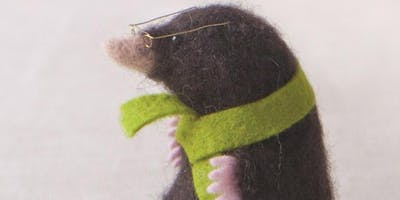Needle Felt Mole Workshop @Craft4Crafters Show - Bath & West