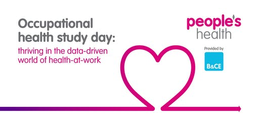 Occupational health study day: thriving in the data-driven world of health-at-work