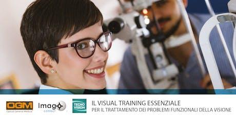 IL VISUAL TRAINING ESSENZIALE - Seminario biglietti