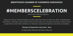 Members Celebration Event Hosted by Pinney Talfourd Sol...