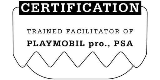 Trained Facilitator of PLAYMOBIL pro., PSA – mit Mathias Haas