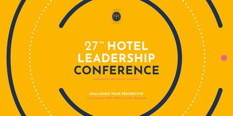 Hotel leadership Conference: Challenge Your Perspective tickets