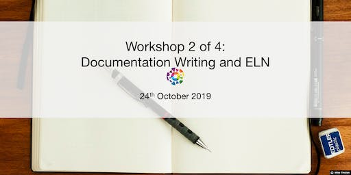 UBC RDM Workshop 2: Documentation Writing and ELN