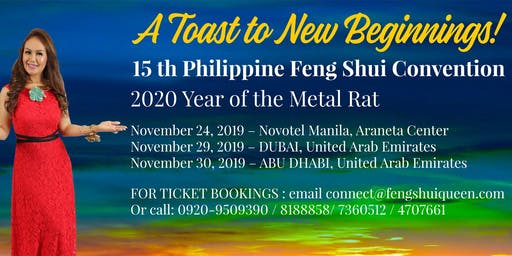 15th Marites Allen Philippine Feng Shui Convention