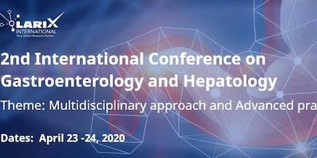 2nd International Conference on Gastroenterology and Hepatology billets