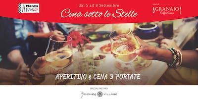 Dal 5 all'8 settembre - Cena sotto le Stelle - Monza Fuori GP