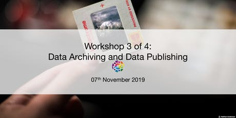UBC RDM Workshop 3: Data Archiving and Data Publishing tickets