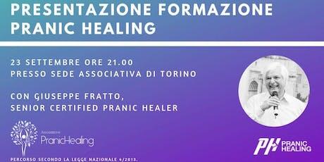 Formazione nelle discipline Bionaturali - Pranic Healing biglietti