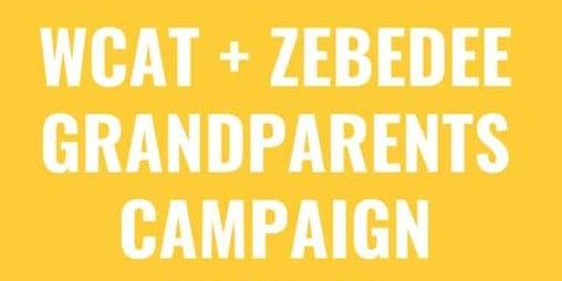 WCAT & ZEBEDEE GRANDPARENTS CAMPAIGN.