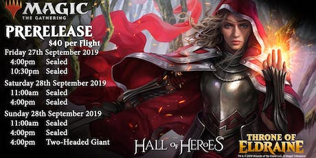 Magic the Gathering Throne of Eldraine : 4pm Friday Afternoon Prerelease tickets