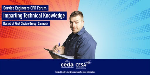 Service Engineers CPD Forum