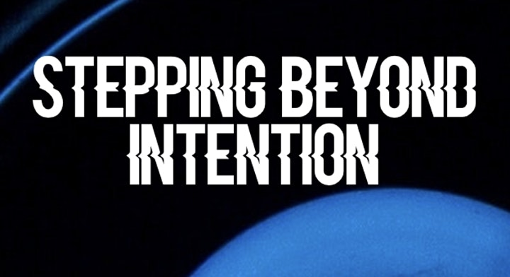 """""""Stepping Beyond Intention"""" Book launch (online) image"""